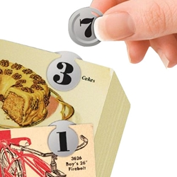 TELEPHONE NUMBERS CLIP ON DISCS