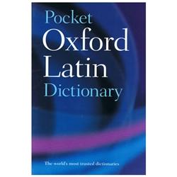 Pocket Oxford Latin Dictionary Paperback