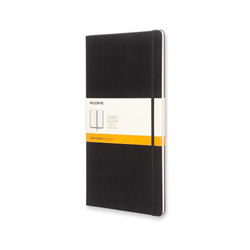 Moleskine Extra Large Ruled Notebook Hard Black
